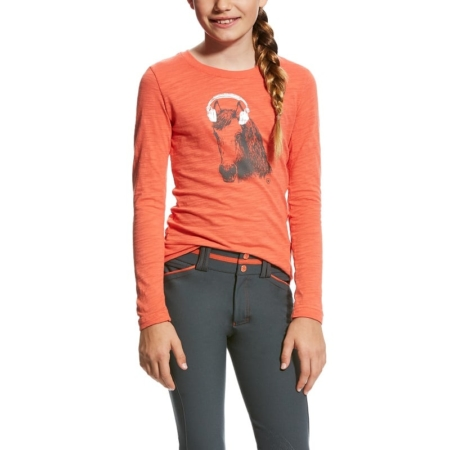 Ariat Girls Mixer Tee Calypso