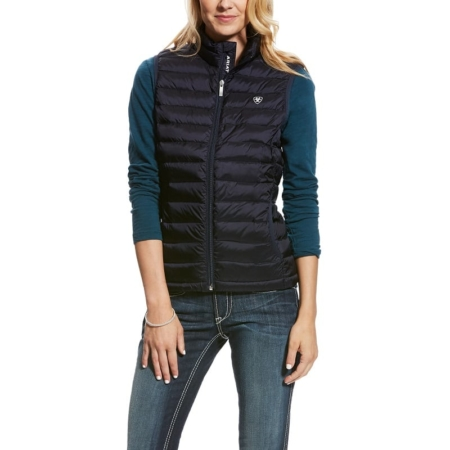 Ariat Ideal Down Ladies Vest, Overall Navy