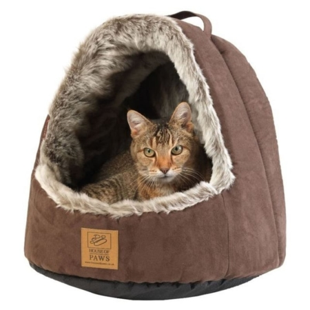 House of Paws Hooded Arctic Cat Bed