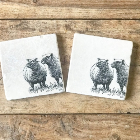 Encore Stone Hand Made Coasters