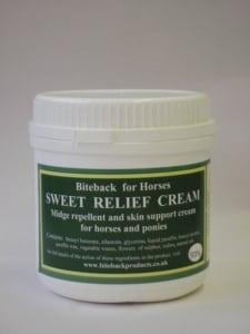 Biteback Sweet Relief Cream, Horses