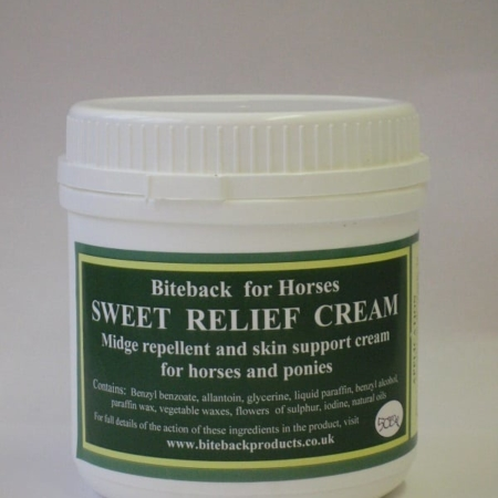 Biteback Sweet Relief Cream, Horses