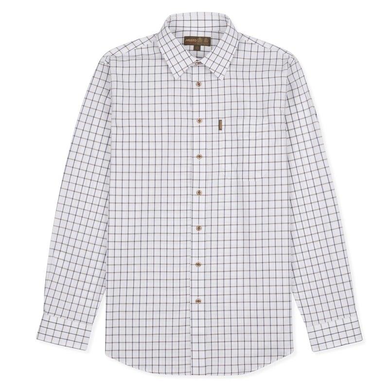 Musto New Twill Check Shirt, Mens