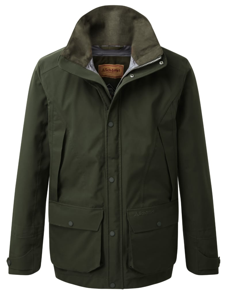 Image of Ptarmigan Pro Coat in Forest Green