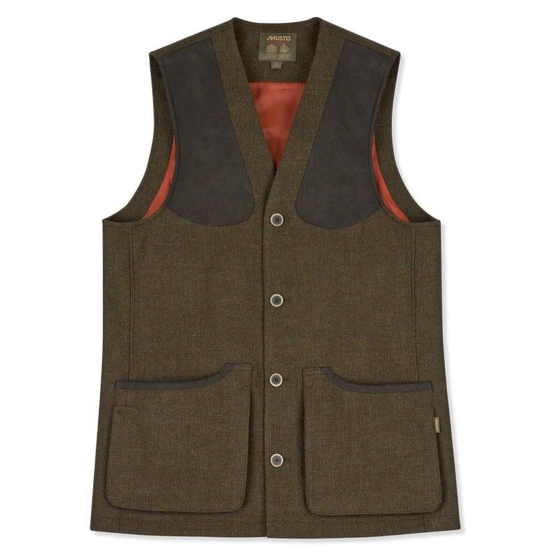 Musto Stretch Technical Tweed Waistcoat, Thornbury