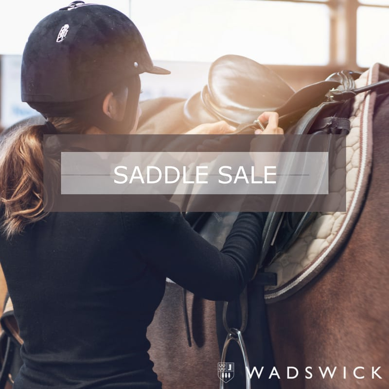 Click through to information on our in store saddle sale