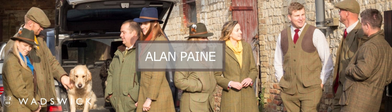 Alan Paine Brand Page Banner Image