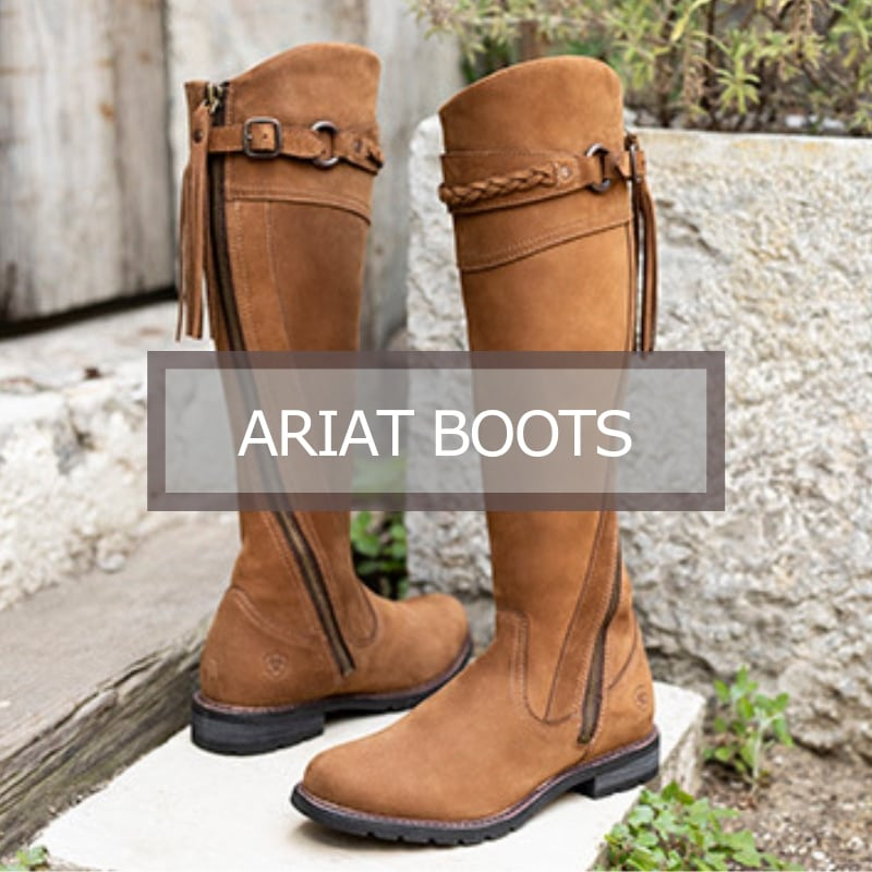 Ariat New Footwear Boots section image