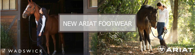 New Ariat Footwear Banner Image
