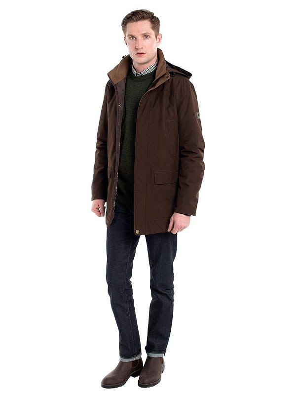 1b10fab751412 Dubarry Ballywater Waterproof Jacket in Coffee | Available at Wadswick