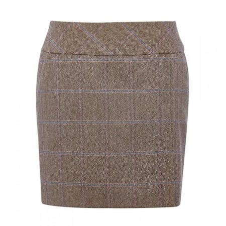 Dubarry Bellflower Tweed Skirt, Woodrose