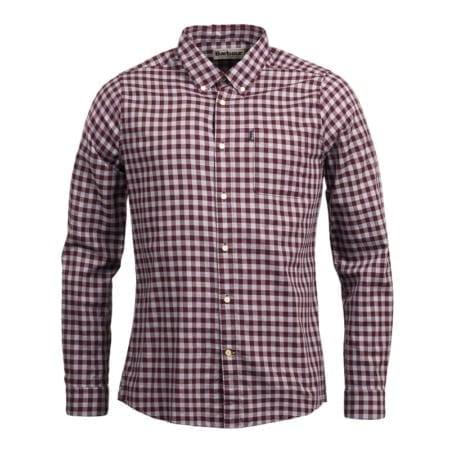 Barbour Endsleigh Gingham Shirt, Merlot