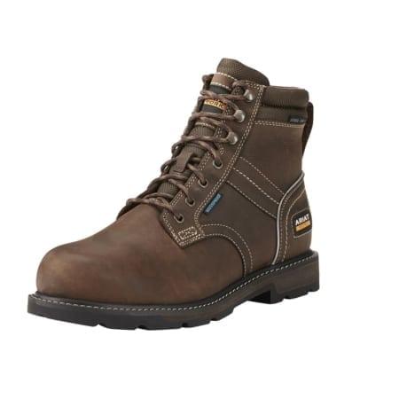 """Ariat Groundbreaker 6"""" H20 En Iso Boots, Dark Brown"""