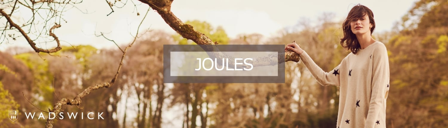 Joules brand page banner image