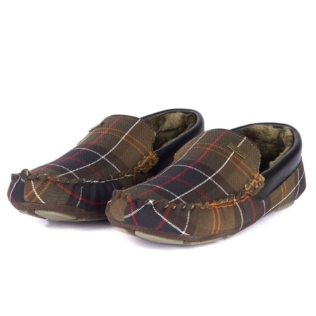 Barbour Monty Classic Tartan Moccasin