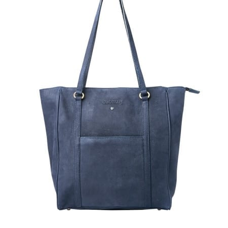 Dubarry Arcadia Leather Tote Bag, Navy