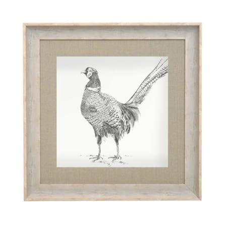 Venatu Pheasant Framed Art Print from Voyage Maison
