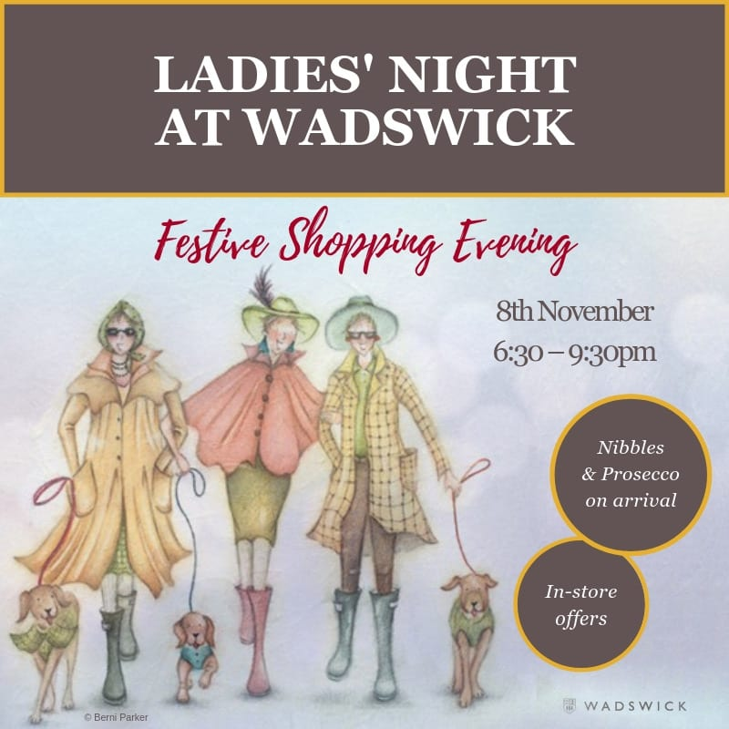 Ladies' Night - Late Night Shopping Evening at Wadswick Country Store on 8th November