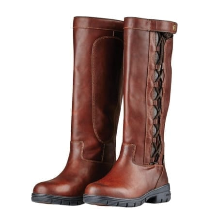 Dublin Pinnacle Grain II Country Boots, Red Brown