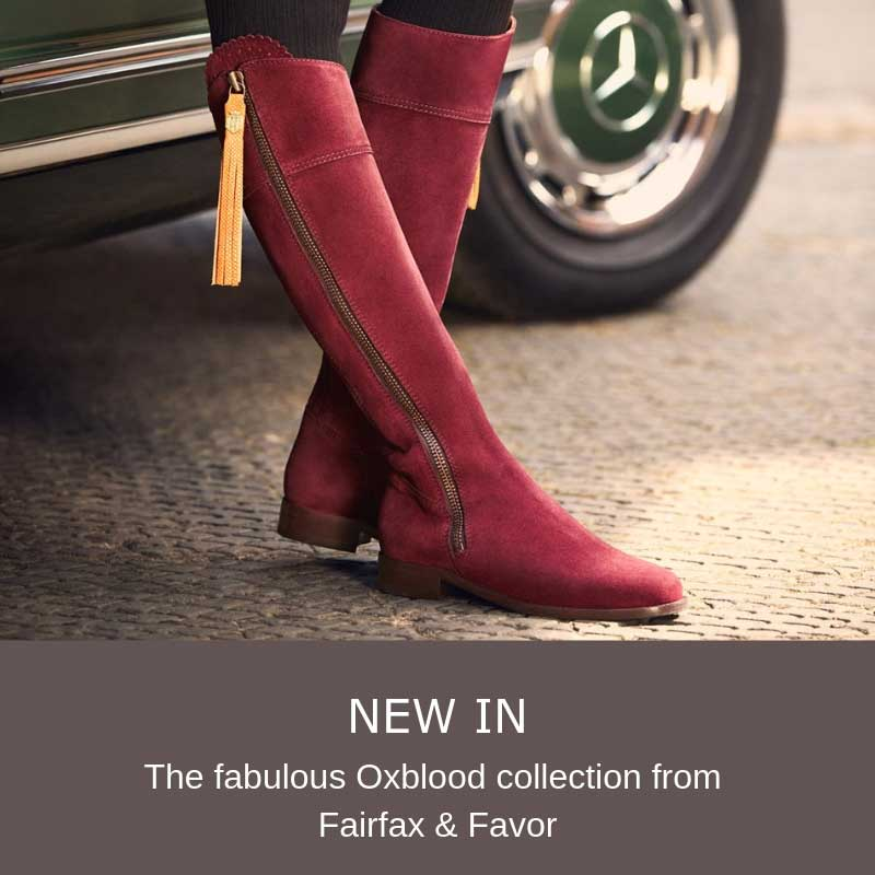 Fairfax & Favor Oxblood Image Frontpage
