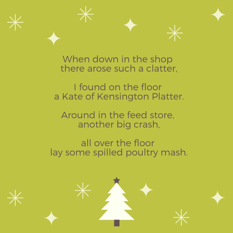 Country Christmas Gifts Verse 3