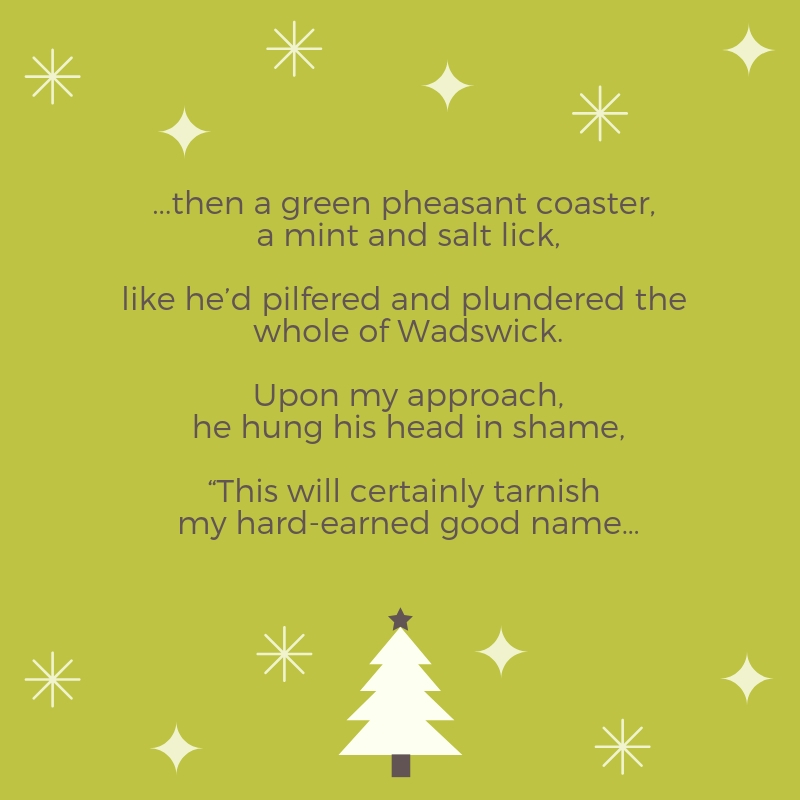 Country Christmas Gifts Verse 5