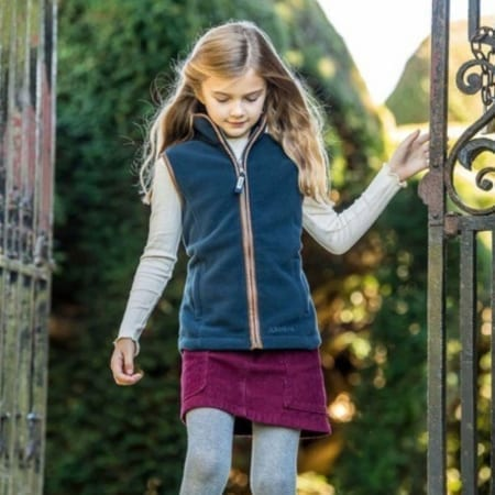 Little Schoffel Lyndon Girls Gilet - Wadswick Country Store