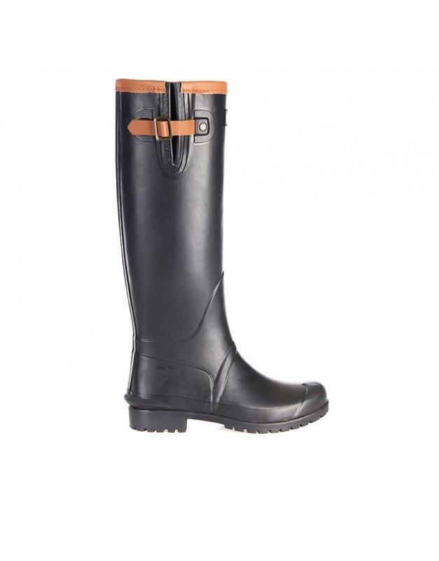 Barbour Blyth Wellington Boots, Black