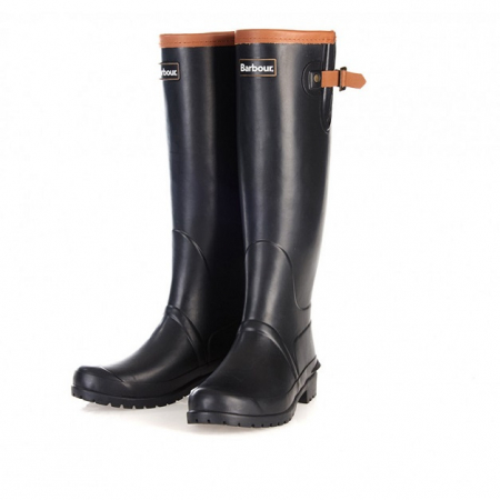 Barbour Blyth Wellington Boots, Black