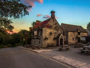 Enjoy dinner in a country pub - Best ways to celebrate Valentine's Day in the countryside - Wadswick Country Store
