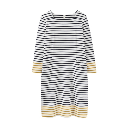 Joules Yvone Square Neck Dress