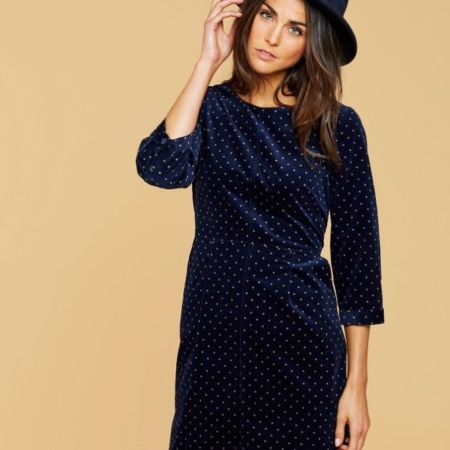 Joules Cordelia Pincord Dress