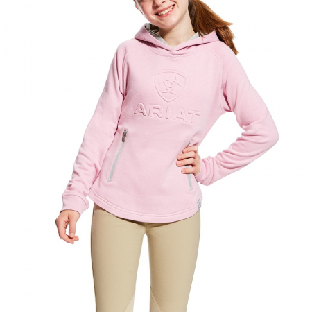 Ariat Girls 3D Hoodie, Lilac Pearl