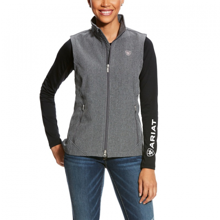 Ariat Journey Softshell Vest, Charcoal Grey