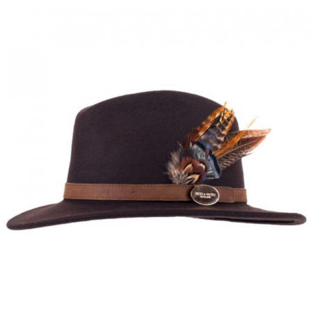 Hicks & Brown Suffolk Fedora Brown Gamebird 1 Image