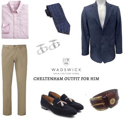 Men's Outfit for Cheltenham Races