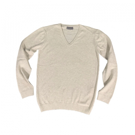 Wadswick V Neck Ladies sweater beige Image
