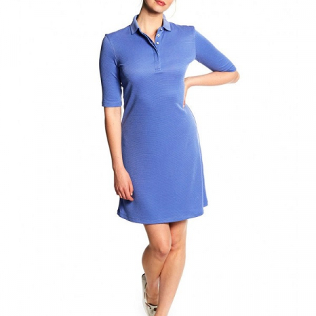 Dubarry Ardee Polo Dress, Blue