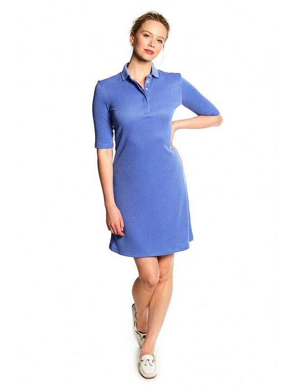 Dubarry Ardee Polo Dress, Blue