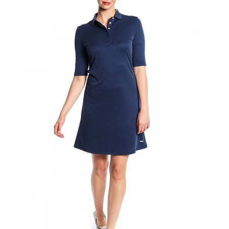 Dubarry Ardee Polo Dress, Navy