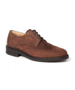 Dubarry Derry Brogue Shoe, Walnut