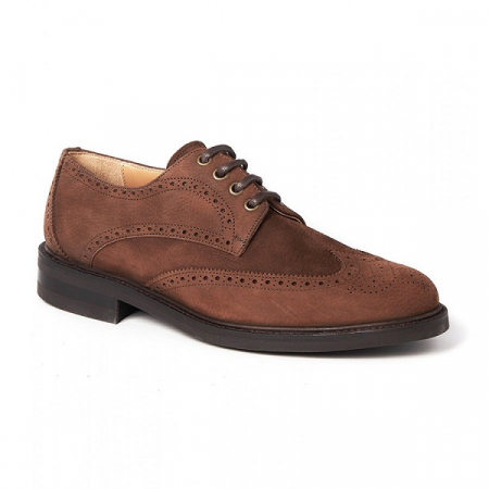 Dubarry Derry Brogue Shoe, Walnut