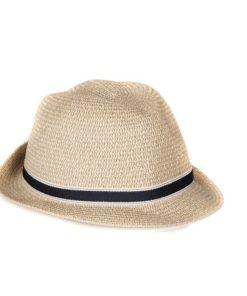 Barbour Lagoon Trilby Hat, Dark Natural