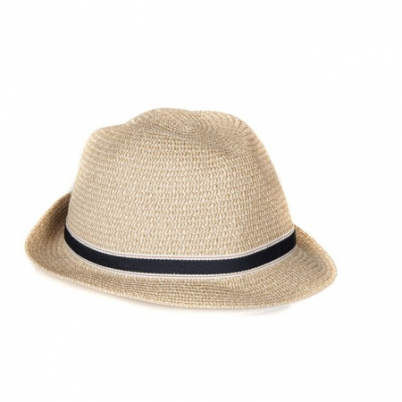 Barbour Lagoon Trilby Hat, Dark Natural