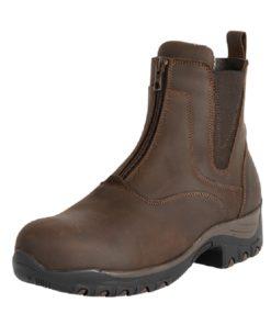 Fonte Verde Luso Zip Paddock Boot in Chocolate