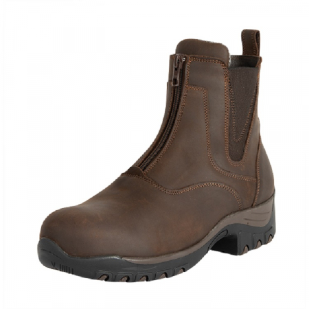 Fonte Verde Luso Zip Paddock Boot in Chocolate
