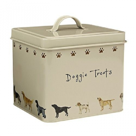 Orchid Tinware Dog Treats Tin