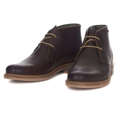 Barbour Readhead Chukka Boot, Dark Brown