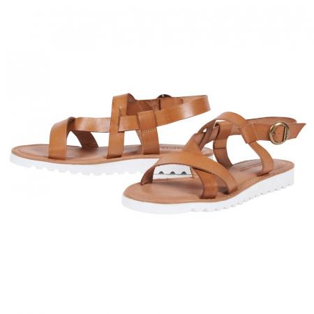 Barbour Sandside Sandal, Tan