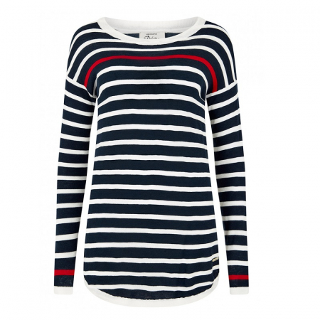 Dubarry Abbeyside Sweater in Navy Multi